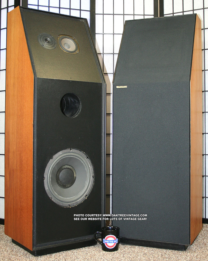 snell type c stereo speakers