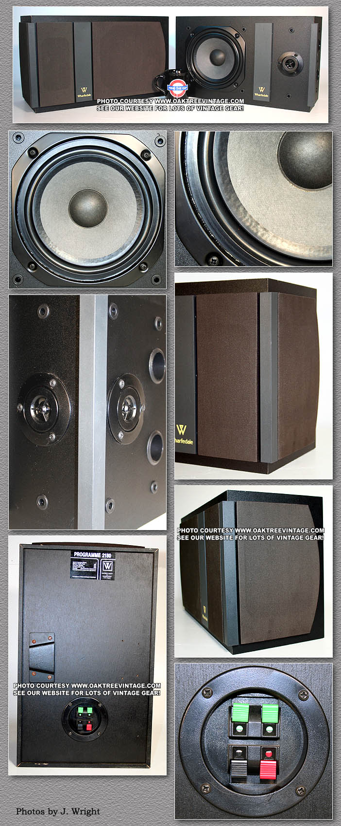 Wharfedale Speaker Parts For Vintage Wharfedales