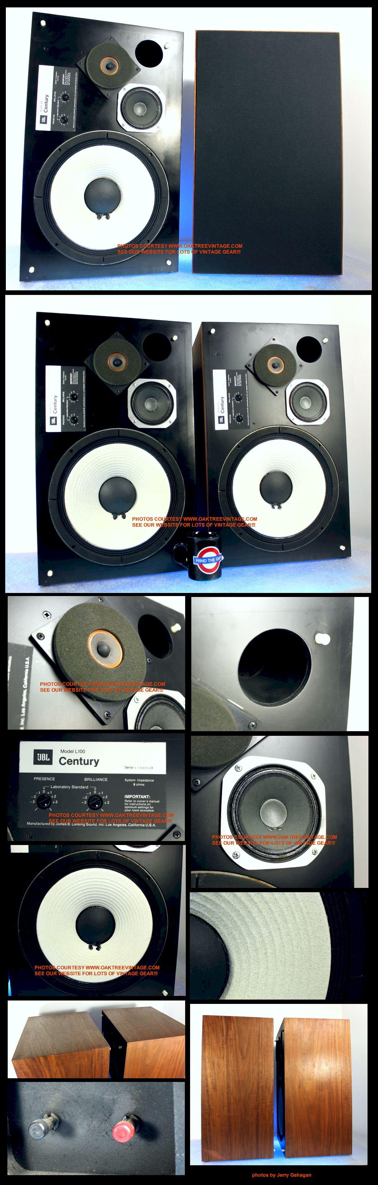 Clic & Vintage Home Audio / Stereo Speakers ... Jbl Century Speaker Wiring Diagram on