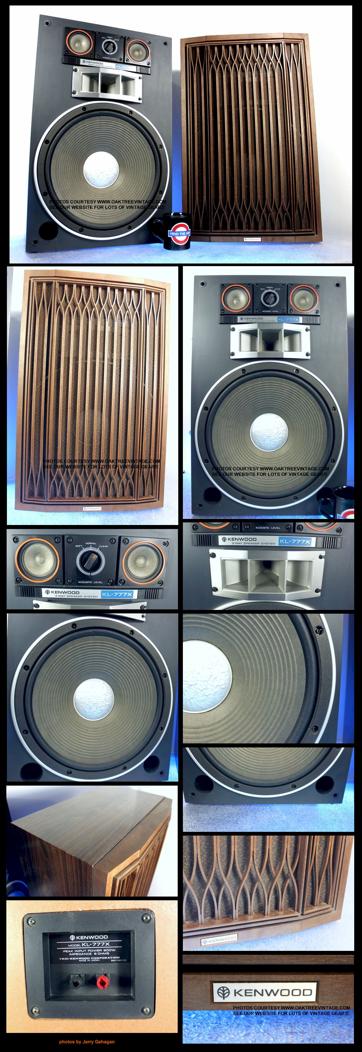 Archive Vintage / Classic Kenwood / Trio Speakers – Photo