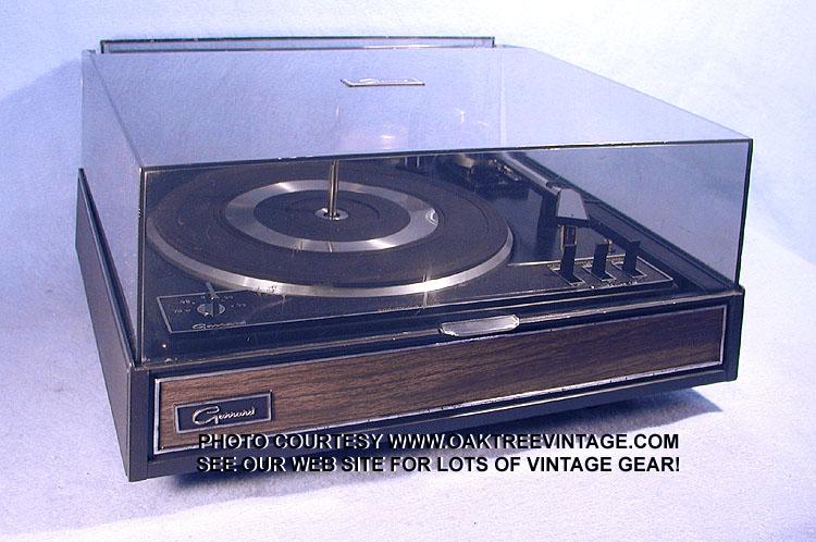 Garrard Zero 100SB Manual - 2-Speed Belt-Drive Turntable - Vinyl ...