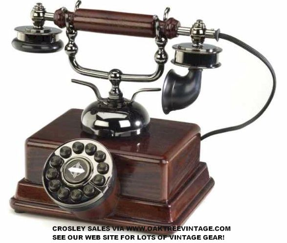 Old Fashioned Phones / Telephones Antique style & Vintage style