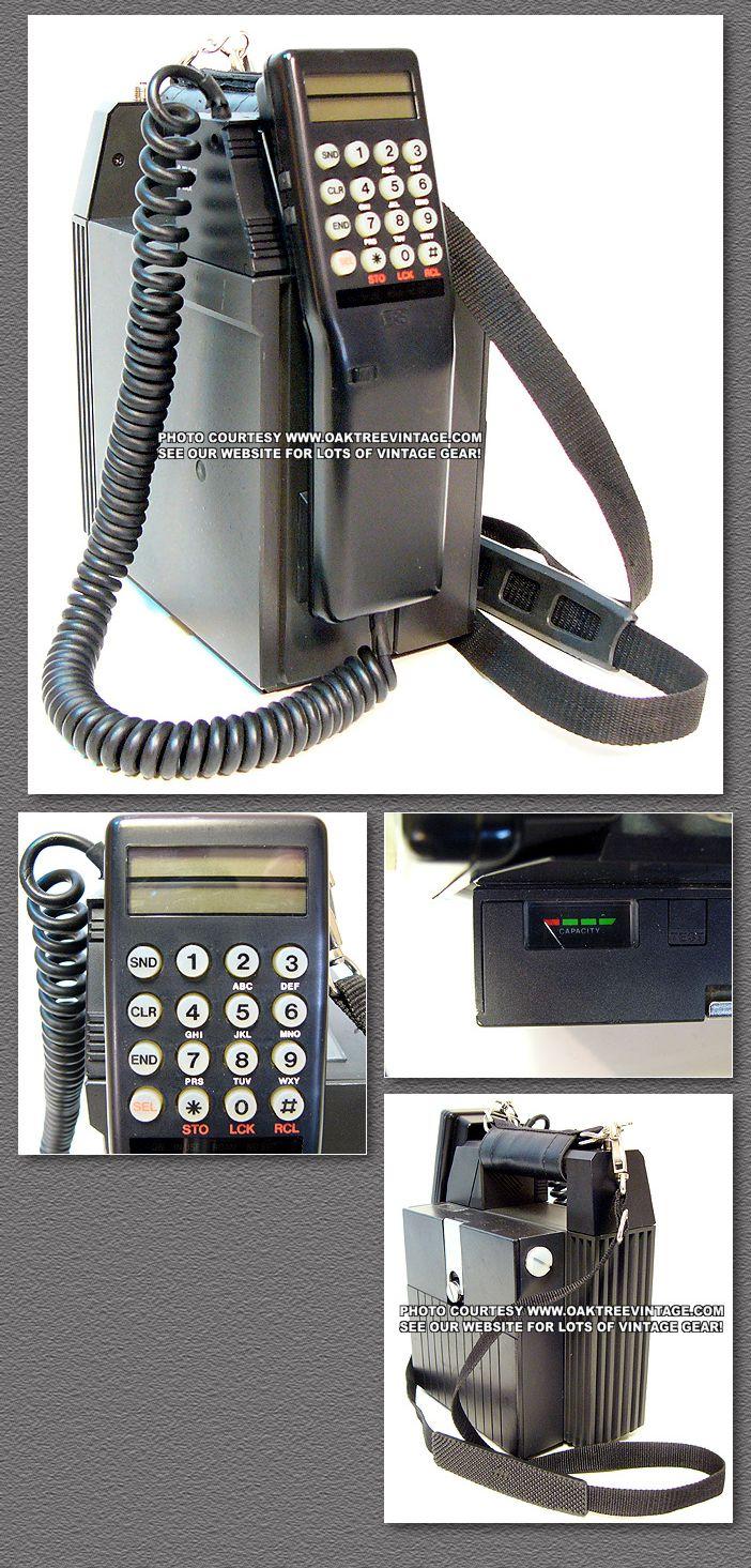 VINTAGE BRICK CELL PHONES- OLD SCHOOL BAG & CAR PHONES
