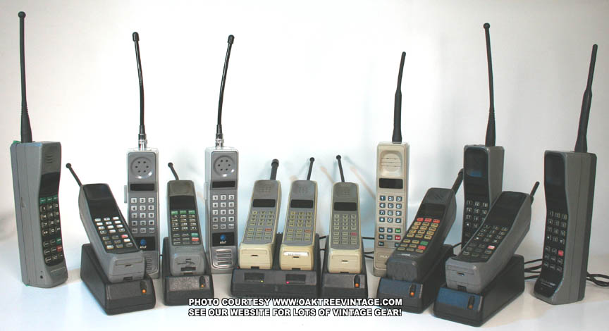 Vintage_Brick_cell-phones_Group_collection_photo
