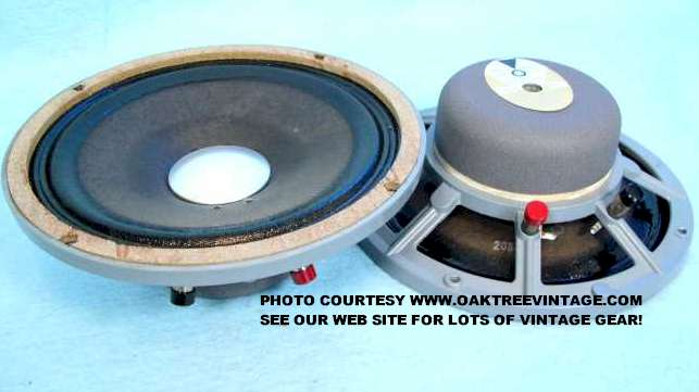 JBL Replacement Speakers drivers & Parts  Used & Vintage