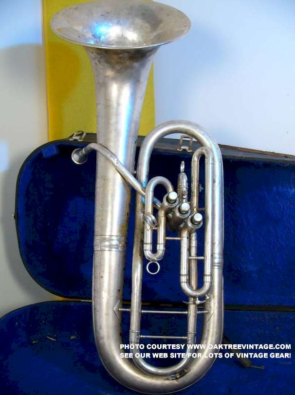 Brass Baritones King Cleveland Bell Front Baritone Horn