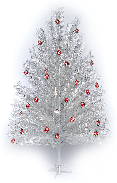 ALUMINUM CHRISTMAS TREE Made In The U.S.A.