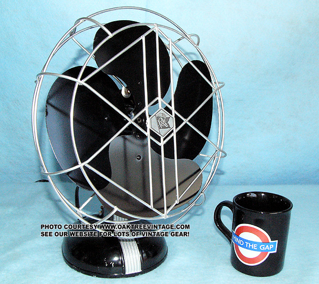 Antique Vintage Electric Fans Restored Refurbished And