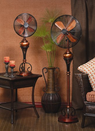 Decorative Electric Fans By Deco Breeze Floor Standing