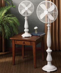 Decorative Electric Floor Standing Fans and Decorative Electric