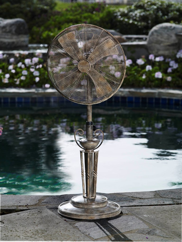 Lido Outdoor Patio, Floor Standing Fan
