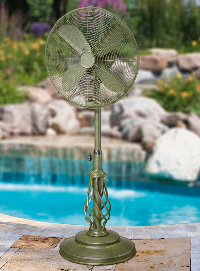 Dynasty Outdoor Patio, Floor Standing Fan