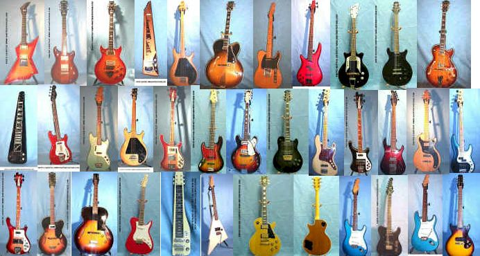 Electric Guitars Vintage New Used Second Hand Electric Guitars