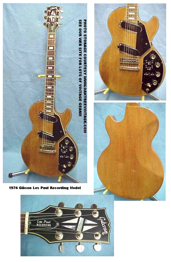 Gibson_Les Paul Recording_Guitar_TW_collage the unique guitar blog october 2009 Les Paul Classic Wiring Diagram at reclaimingppi.co