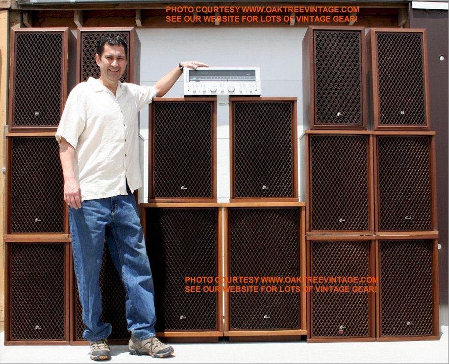 Jerry Of Oaktreevintage The Wall O Sansui
