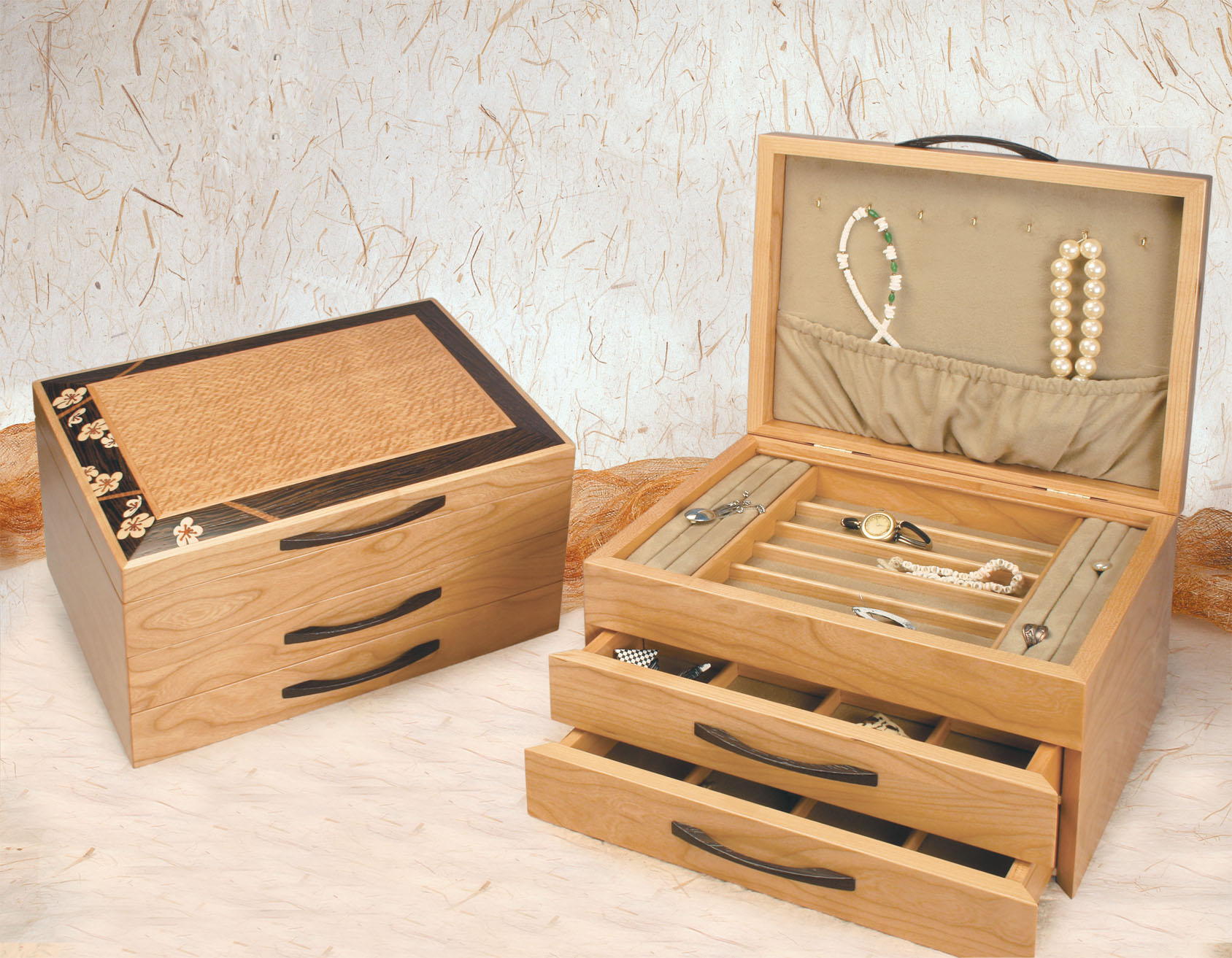 Wood jewelry boxes great fathers day gift idea view larger image solutioingenieria Images