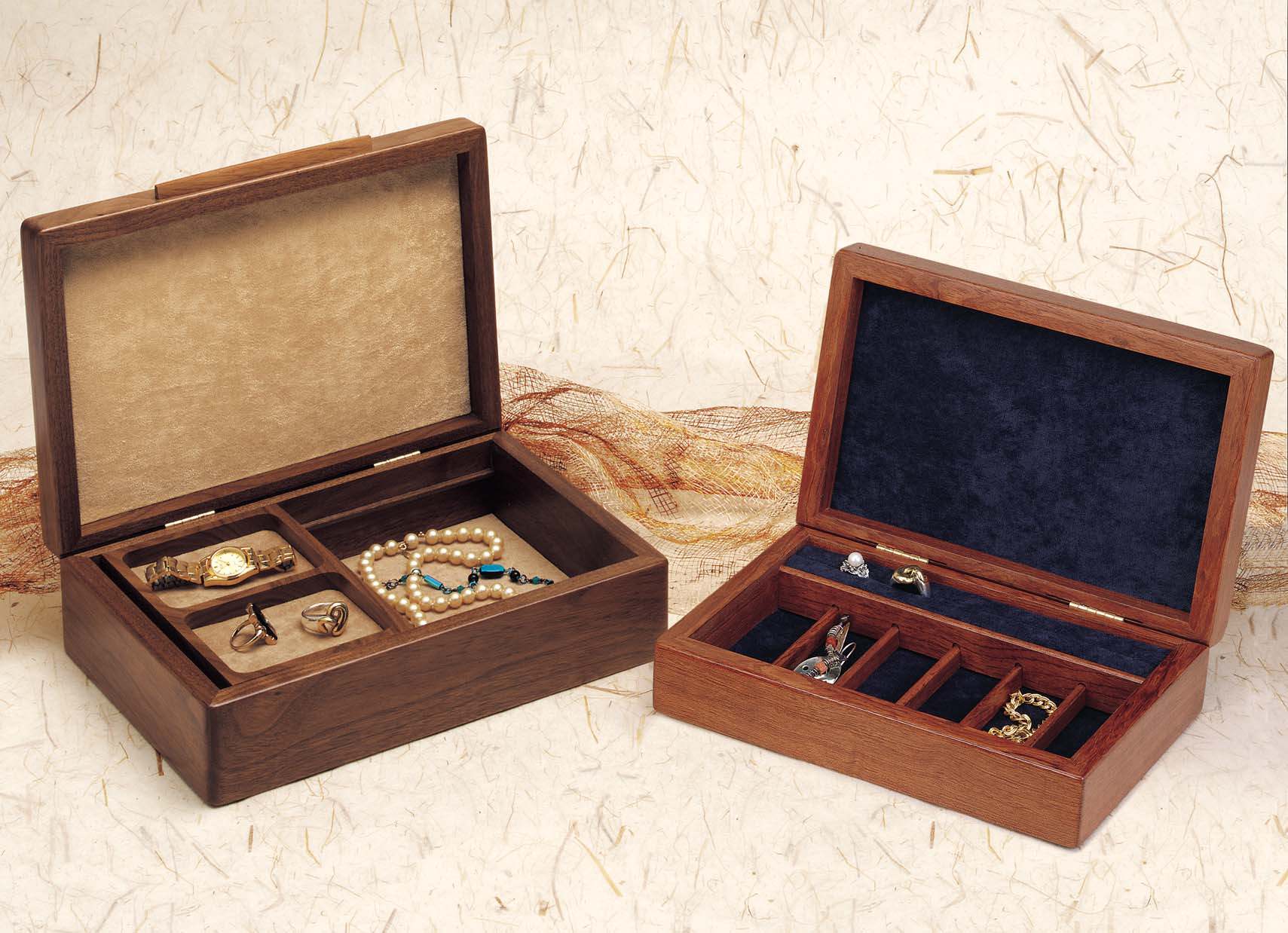 Wood Jewelry Boxes Great Fathers Day Gift Idea