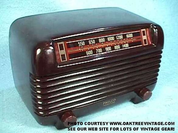 Philco_Transitone_2_web.jpg (36912 bytes) ... - Antique Radios & Vintage Tube Radios / Deco-Bakelite Bakelight