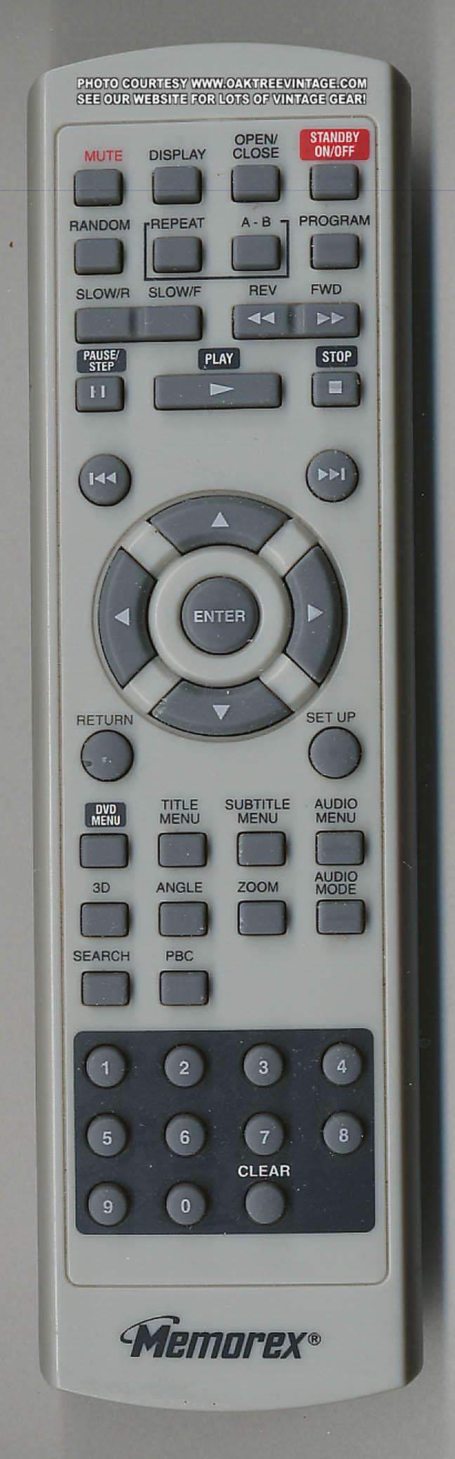 Memorex dvd player remote not working