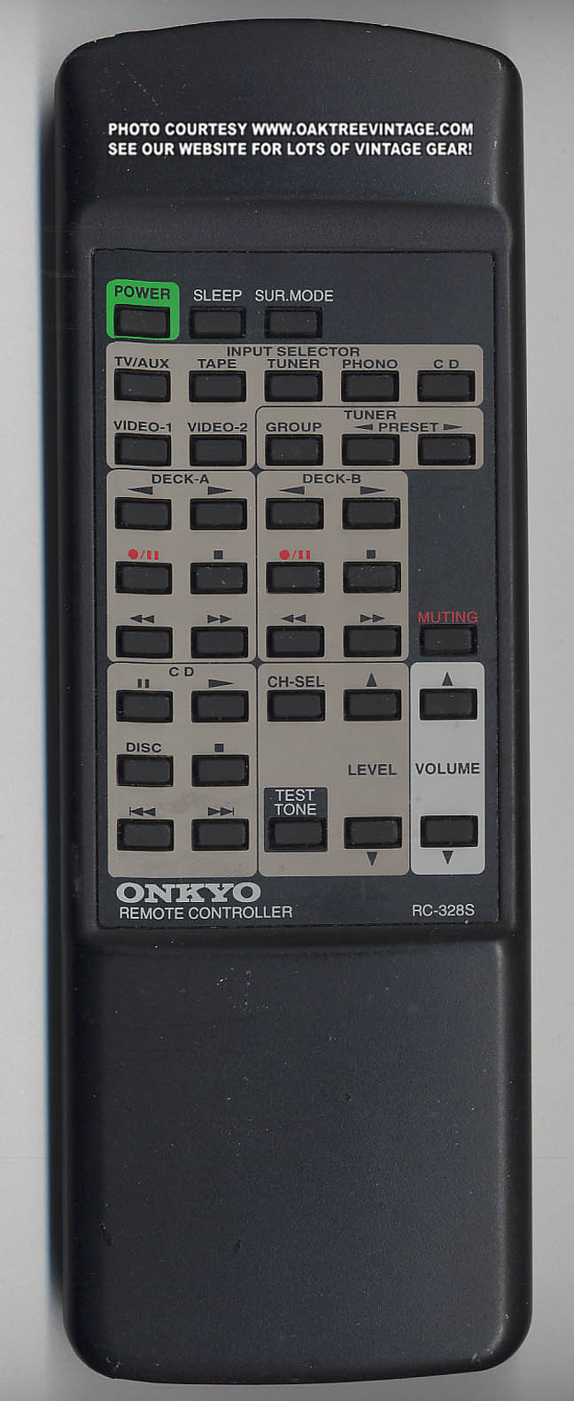 Onkyo Rc 328s Rc328s Multi Function Remote Control