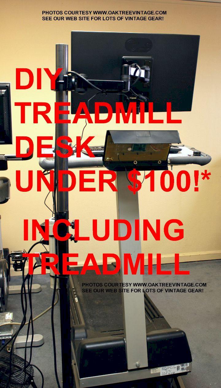 Diy Cheap Treadmill Desk How To Make A Cheap Walking