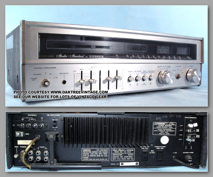 Fisher Parts Amp Spares For Fisher Stereo Receivers Rs 2010