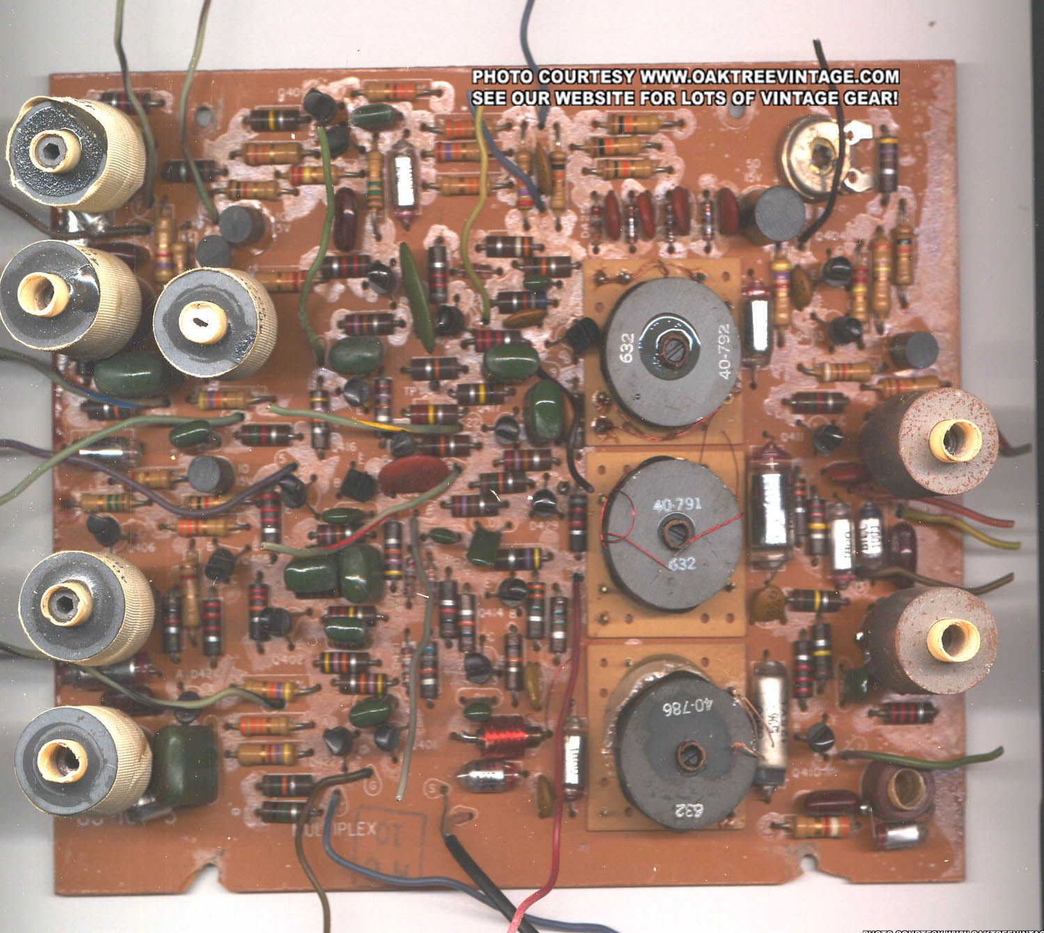 Heathkit Stereo Receiver Parts Spares Fm Circuit Board Click On Above Thumbnail To Enlarge Photo