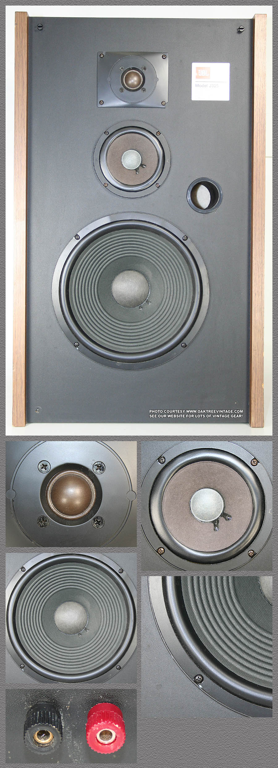 Jbl Replacement Speakers Drivers Parts Used Vintage Way Speaker Crossover Work Also 3 Diagrams