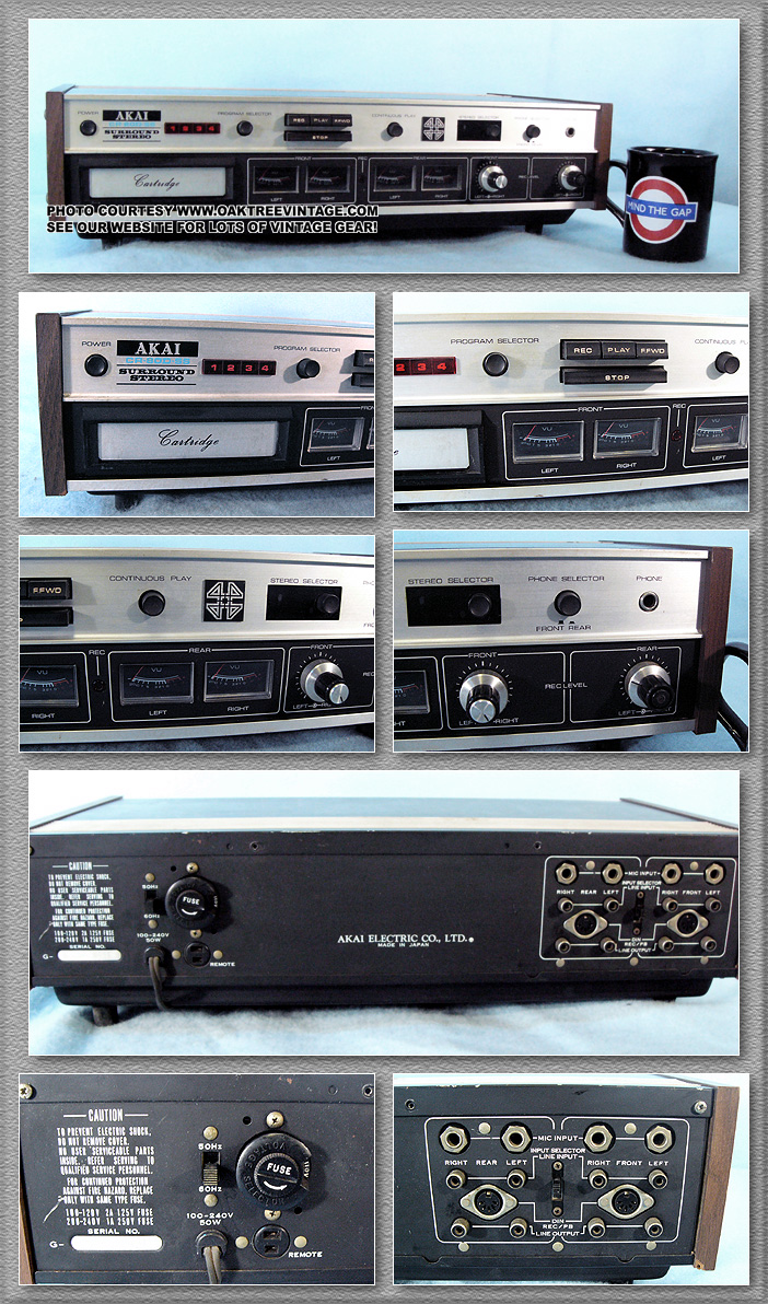 Akai Stereo Parts Spares For Vintage Gear
