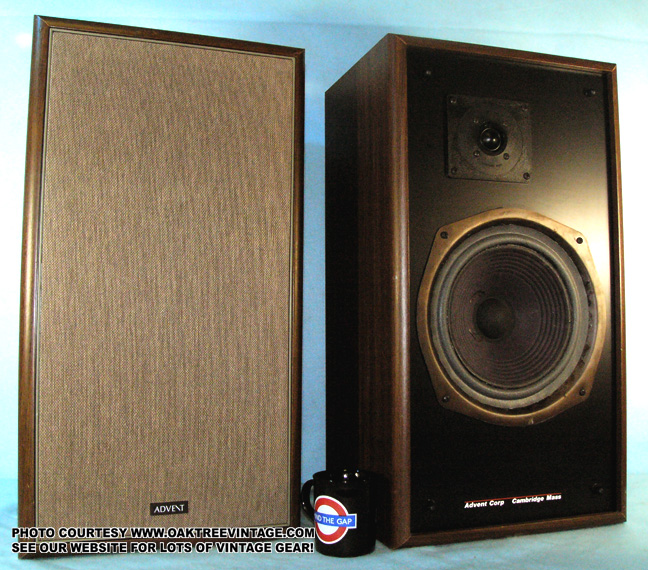 Archive Vintage Classic Advent Speakers Photo Gallery