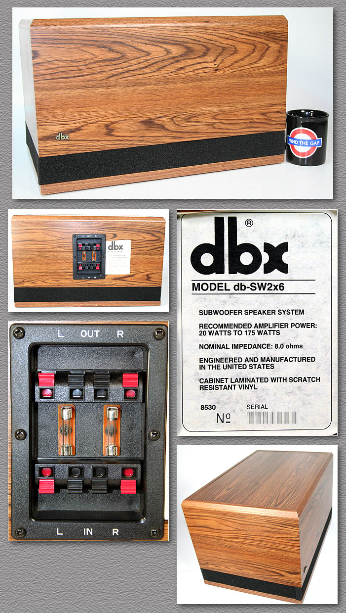 Used Cabinets For Sale >> DBX Soundfield Speaker Parts / Spares