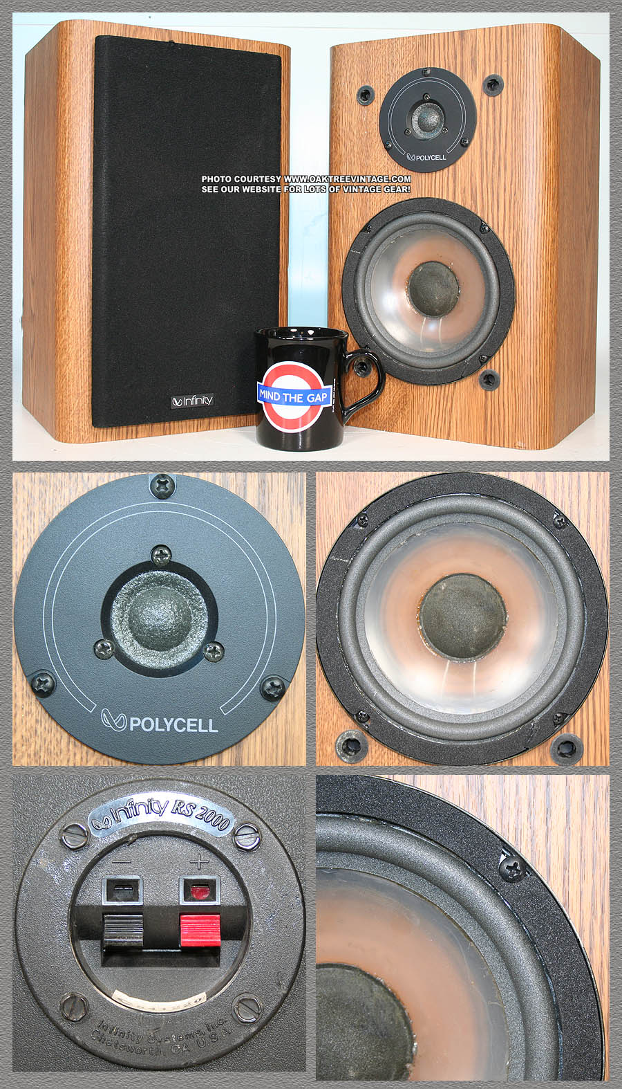 infinity replacement speakers parts spares vintage