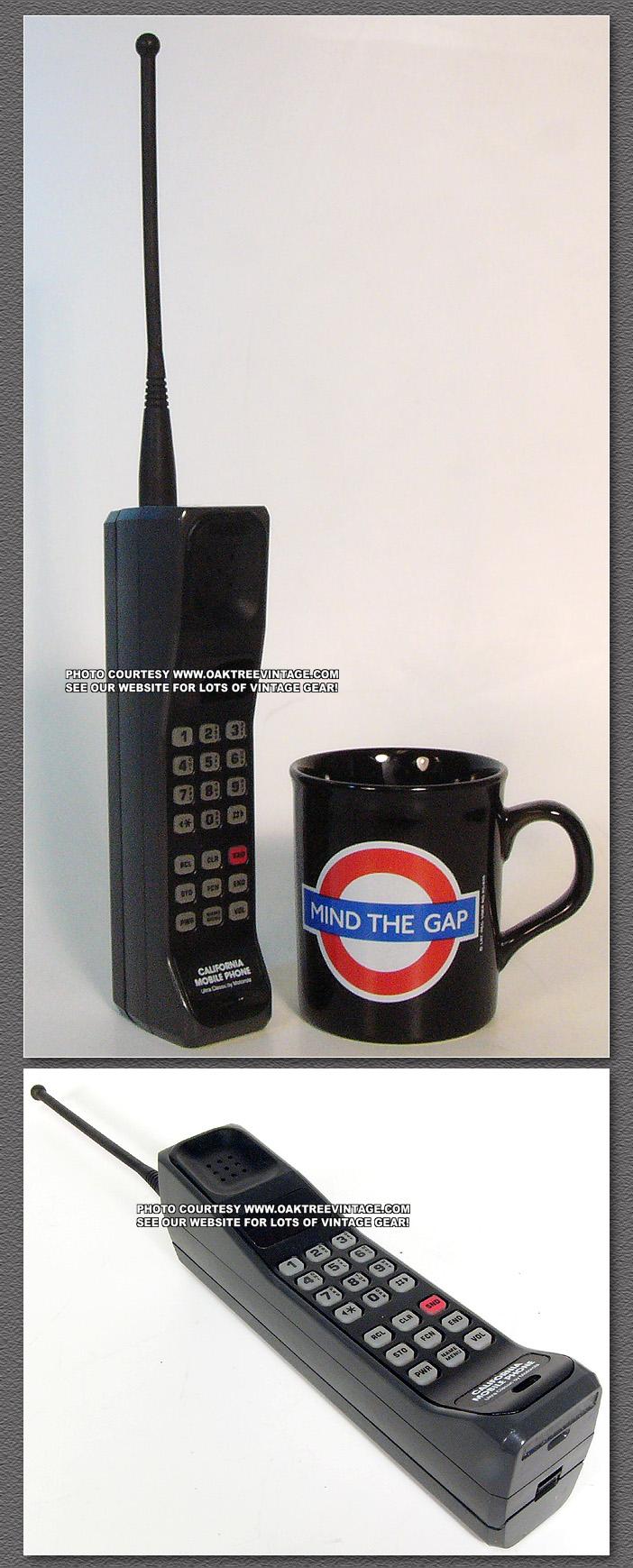 Vintage Brick Cell Phones Old School Bag Amp Car Phones