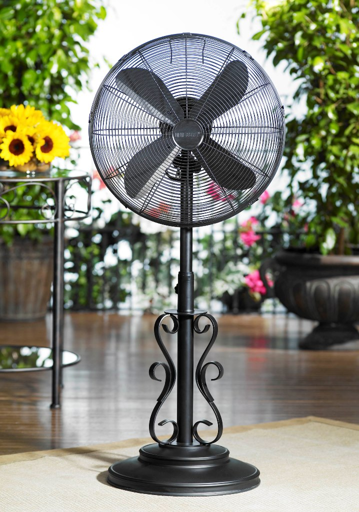 Dbf0624 Ebony Outdoor Patio Fan Floor