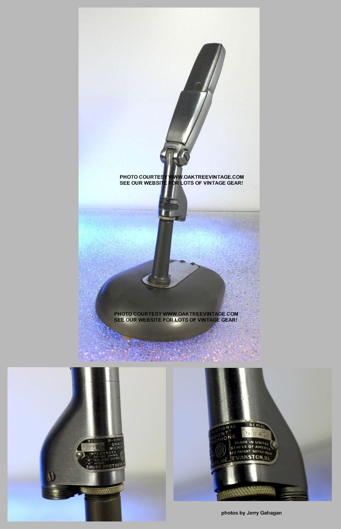 Vintage  U0026 Used Microphones For Sale