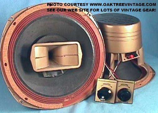 Sound Craftsmen 2640tx 2640 Tx Duplex Woofer Horns