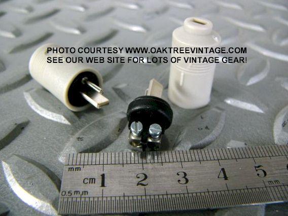 Bang Amp Olufsen Speaker Receiver 2 Pin Din Plugs