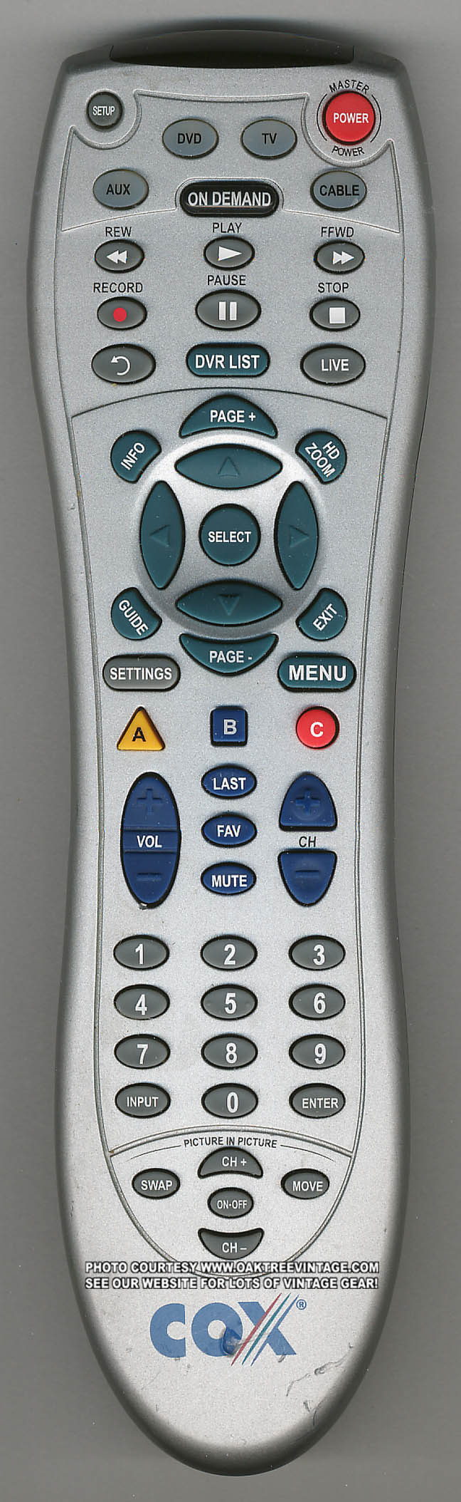 Cox Cable Universal Remote Manual